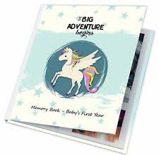 Baby Photo Album Books Gray Baby Books Albums For Sale Ebay