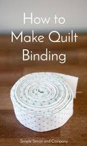 Best 25+ Quilt binding ideas on Pinterest   Quilt binding tutorial ... & How to Make Quilt Binding Adamdwight.com
