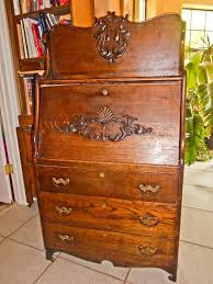 antique larkin 7 las secretary desk 3 drawers elbert hubbard 1903 1909