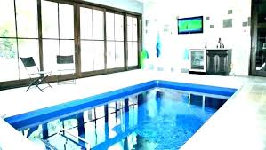 residential indoor pool. Residential Indoor Pool Size . E