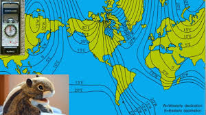 Magnetic Declination Chart Flat Earth Compass Magnetic Declination Chart Youtube