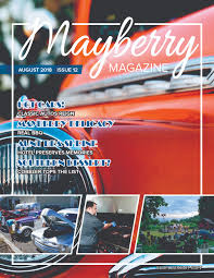 mayberry magazine august 2018