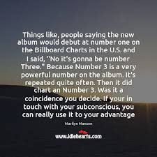 What Is Number One On The Billboard Charts Things Like People Saying The New Album Would Debut At