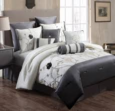 grey bedding sets marston damask duvet cover embossed floral