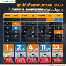 อัพเดท 📅 ฤกษ์ดีเดือนพฤษภาคม 2563... - Priceza Insights