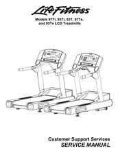 life fitness 95ti service manual 202 pages lcd treadmills