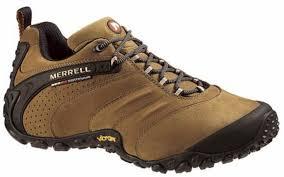 merrell chameleon ii leather walking shoes image 1