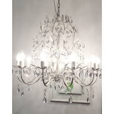 style vintage white crystal rococo palais tree branch chandelier lights