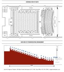 Seating Chart Accessibility John W Engeman Theater