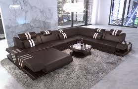 leather sectional couches. Interesting Couches Big Sectional Sofa Beverly Hills XXL Leather Dark Brown Throughout Leather Sectional Couches B