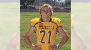 Riverside County Boys Athlete of the Week: Brody Hughes, Temecula ...