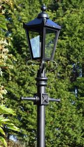 garden lamp post. Authentic Design Vitcorian Lamp Post And Lantern Out In Front Of Trees Garden