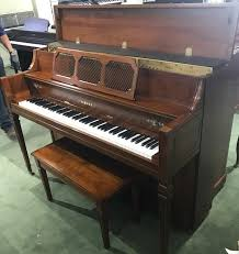 yamaha upright piano prices. used yamaha upright piano model m404 in mahogany finish prices