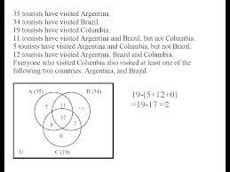 Venn Diagram Math Worksheets Venn Diagram Problems Worksheet Espace Verandas Com