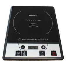 power induction cooktop black with 1 element