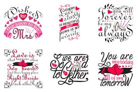 This content is created and maintained by a third party. Wedding Quotes Crafts Graphic By Tosca Digital Creative Fabrica