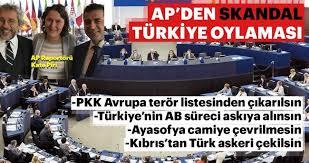 Avrupa Parlamentosu'nun niyeti ne? Parlamento'da Türkiye karşıtı oylama -  Son Dakika Haberler