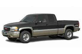 2003 GMC Sierra 2500 Base 4x4 Extended Cab 6.6 ft. box 143.5 in ...
