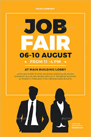 7+ Job Fair Flyer Templates - PSD, EPS, Vector, PDF, InDesign File ...