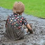 hoe moddervlekken verwijderen