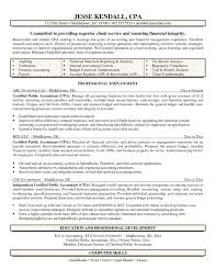 Senior Accountant Resume Example Awful Templates Objective Junior