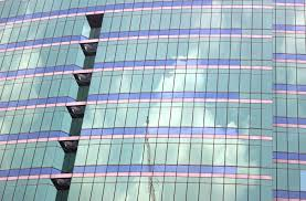 Abstract Detail Of Modern Glass Office Tower Windows Free Stock