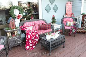 inexpensive deck decorating ideas for christmas marty s musings