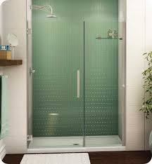 fleurco pgkp36 25 40l mc 79 platinum kara shower door and panel with wall mount hinges with dimensions width 36 1 4 to 37 1 4 approx