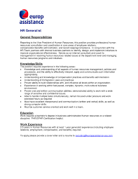 Save Sample Cover Letter Resume Human Resources Position Onda