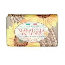 <b>Мыло Marsiglia in Fiore</b> ароматы цветов, экстракт алоэ и мед ...