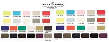 2014 Neon Buddha Color Cards Sylvias Designers Touch