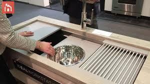 The Galley Kitchen Sink Workstation
