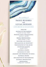 Wedding Program Designs 32 Wedding Programs To Inspire Wedding Ceremony Order Of Service