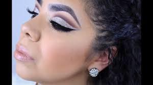 prom makeup look dramatic cut crease makeup by anaiz