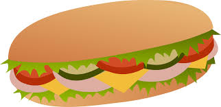 sandwich clipart. Brilliant Clipart Sub Sandwich Clip Art And Clipart R