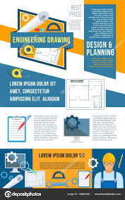 Building Design Brief Template Construction Planning And Building Design Banner Stock