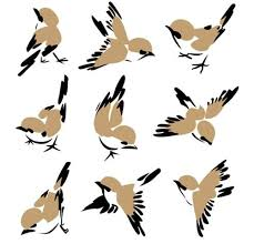 flying sparrow clipart. Interesting Flying Cute Sparrow Vector  Flying U0026 Sitting Free Vector Birds Design   ClipArt Best Intended Clipart