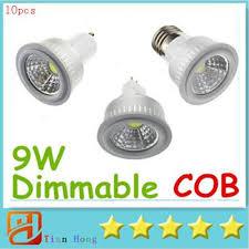 <b>10x High</b> Quality COB GU10 E27 E26 MR16 9W Dimmable <b>Led Spot</b>