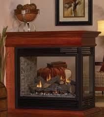 empire tahoe premium direct vent propane peninsula fireplace 36 dvp 36 pp32ep