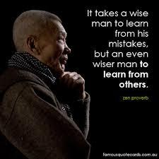It takes a wise man