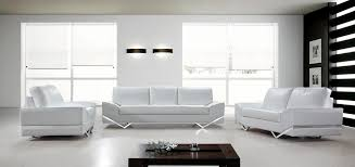modern white leather sofa contemporary furniture