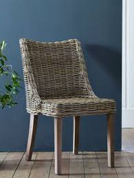 both stylish and super fortable our sy rattan chair has warm gany and cool grey wicker dining room chairsrattan