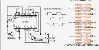 pwm wiring diagram how to build a 3 phase vfd circuit vfd 3 phase frequency geneartor circuit