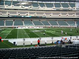 Lincoln Financial Field Seating Map Lincoln Financial Field