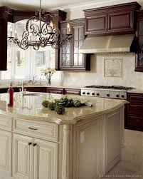 kitchen design cabinets traditional light: traditional antique white kitchen cabinets like the antique white on cabinets much warmer than white dark wall cabinets and white island make for a nice