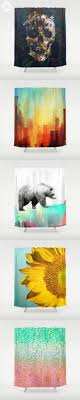 bear shower curtain 25