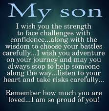 To My Son Quotes