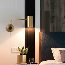 2021 modern wall light all copper
