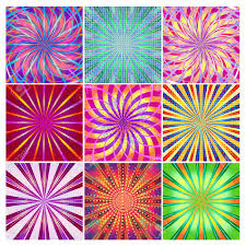 Colorful Designs A Set Of Colorful Bright Festive Backgrounds For Your Designs