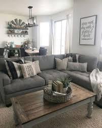 gray farmhouse living room ideas